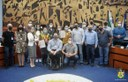 Câmara homenageia medalhistas paralímpicas paranaenses