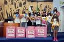 Evento solidário arrecada mais de 4 mil absorventes