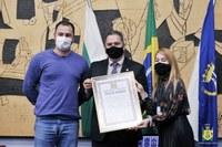 Ponta Grossa tem novo Cidadão Honorário