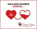 Vereador Divo faz campanha para doação de sangue
